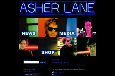 Asher Lane Website Relaunch 2008
