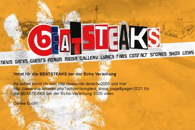 Beatsteaks Relaunch 2005