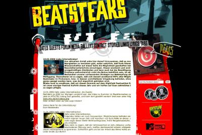 Beatsteaks Website Relaunch 200