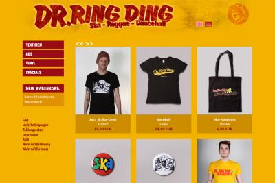 Dr. Ring Ding Official Merchandise