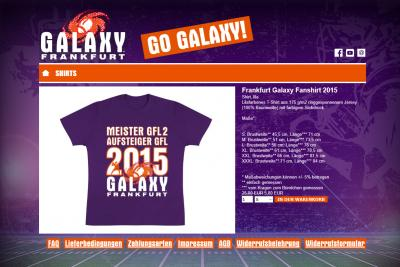 Frankfurt Galaxy Shop