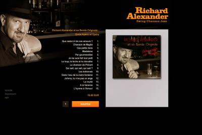 Richard Alexander Onlineshop