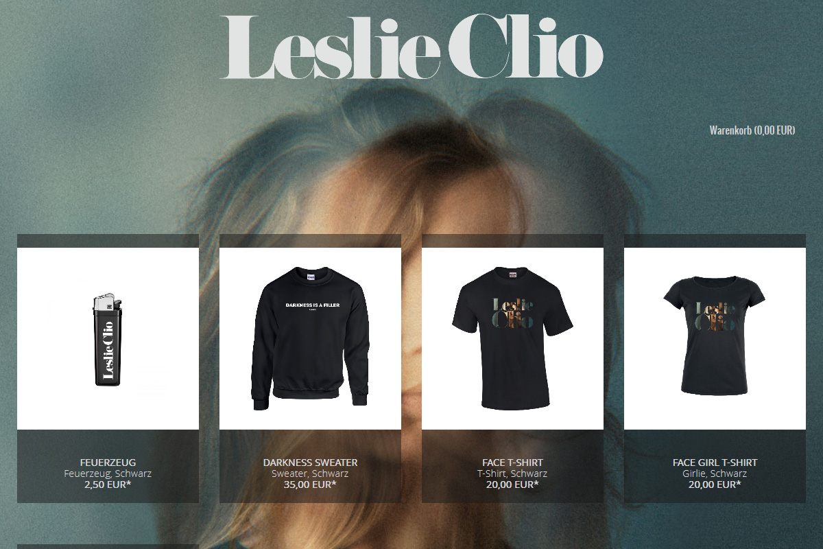 Official Leslie Clio Shop