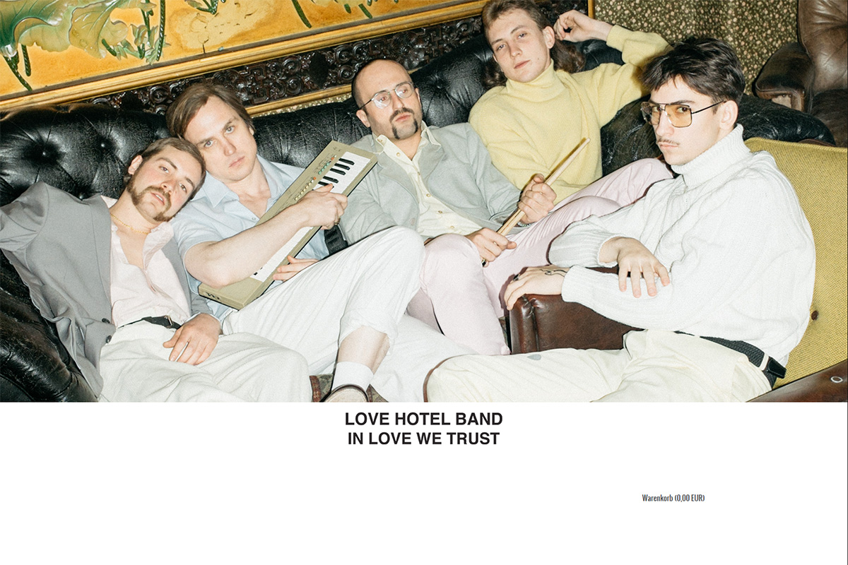 Official Love Hotel Band Shop