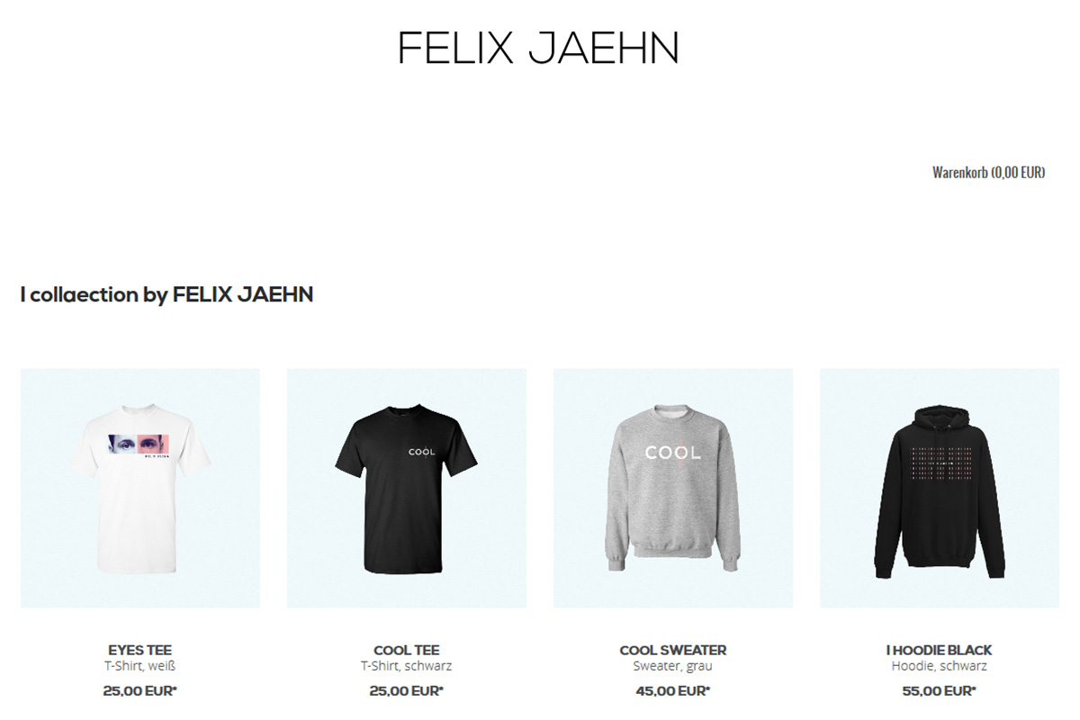 Official Felix Jaehn Shop