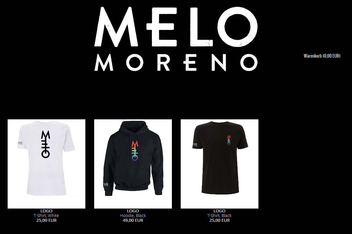 Official Melo Moreno Shop