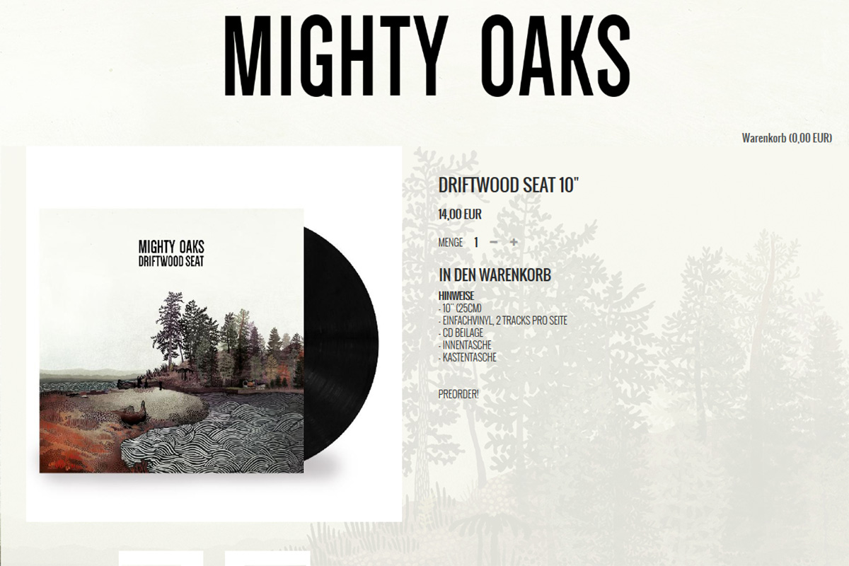 Official Mighty Oaks Shop 2018
