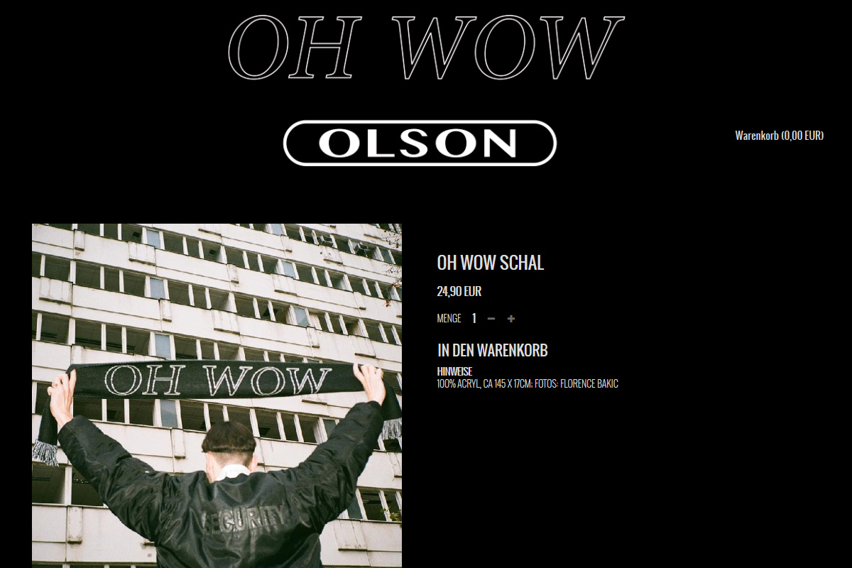 Official Olson Shop