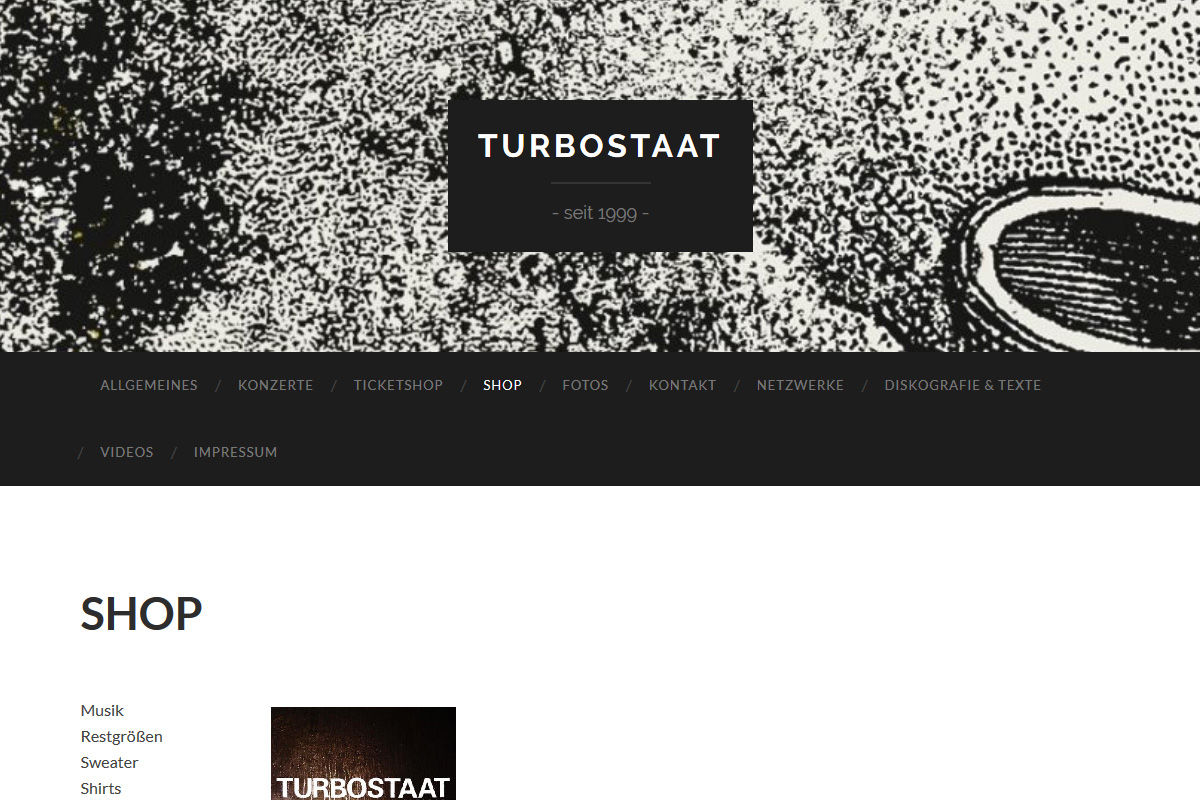 Turbostaat Shop