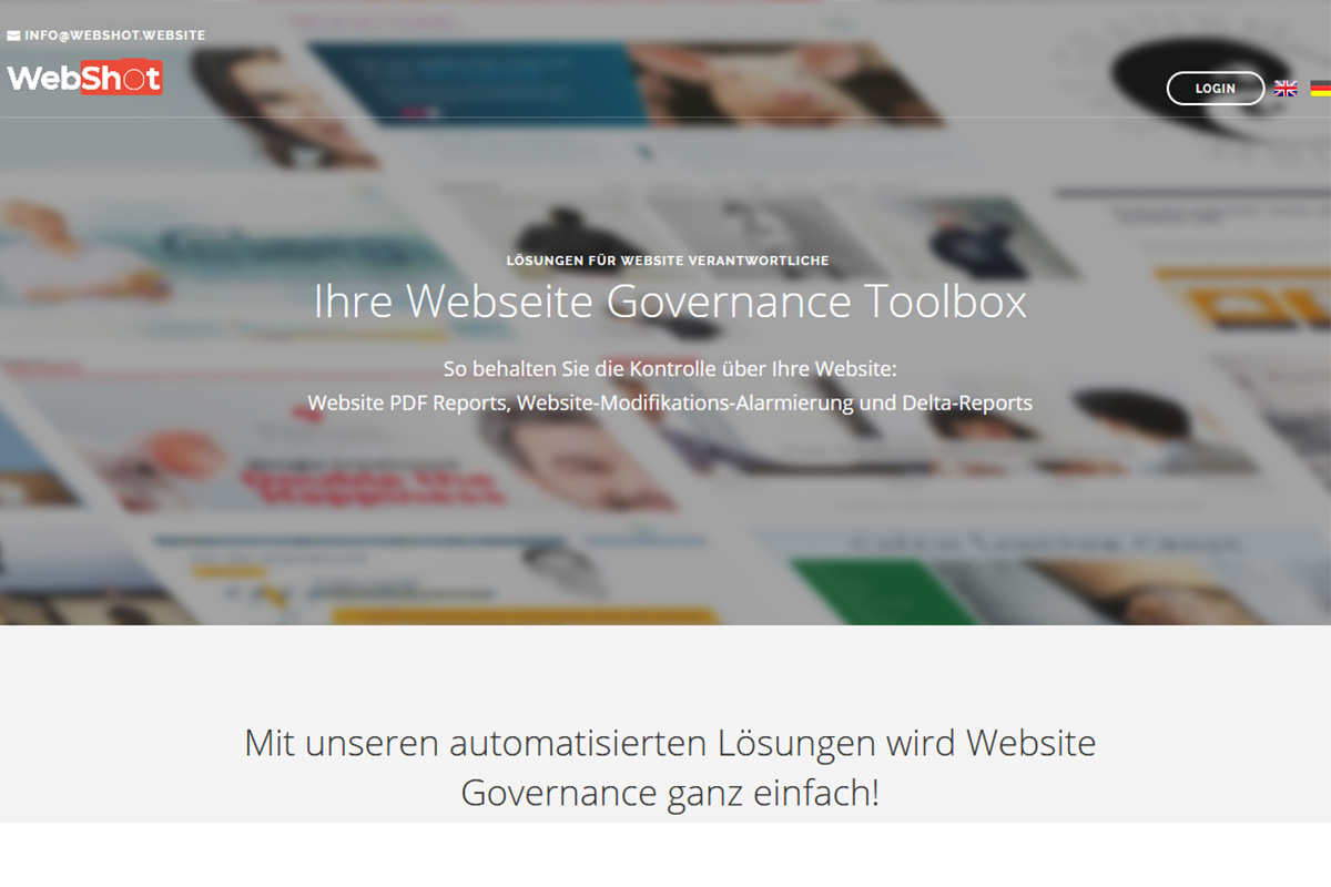 Webshot - Website Governance Toolbox